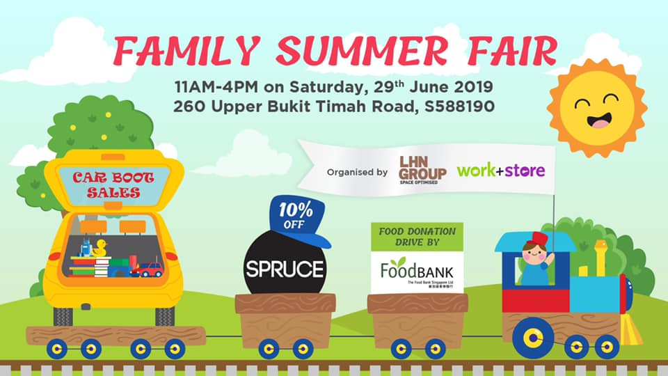 Upcoming: Family Summer Fair by Work Plus Store, 29 Jun 2019
