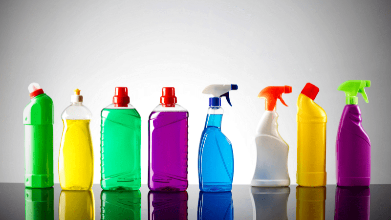 Chemicals in your cleaning products cleans, but may kill you in the process