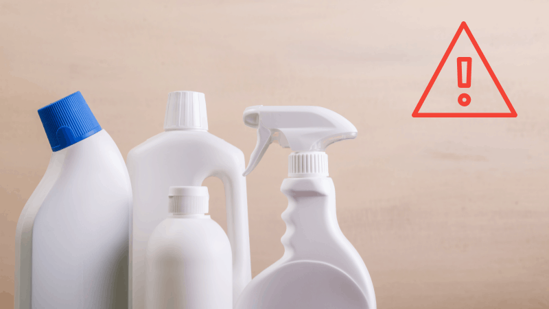 Have allergies? Avoid these chemicals in your cleaning products.
