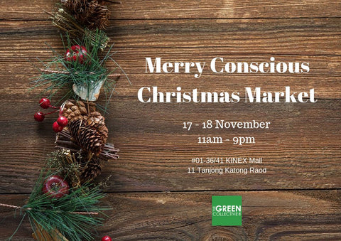 Merry Conscious Christmas Market by The Green Collective SG