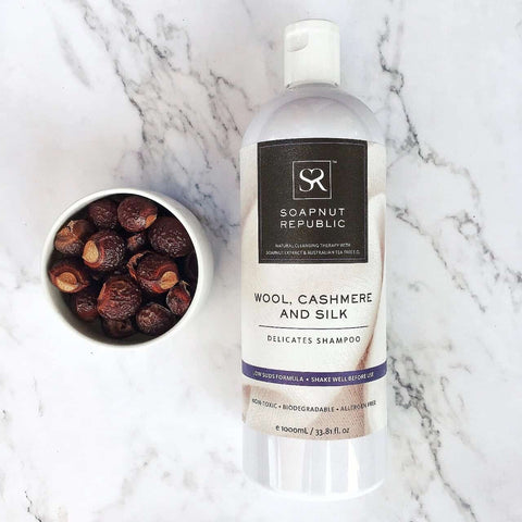 Shop Soapnut Republic Wool, Cashmere and Silk Shampoo