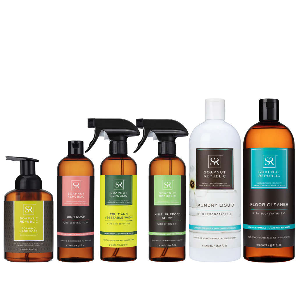 Essential Bundle with Lemongrass Hand Soap