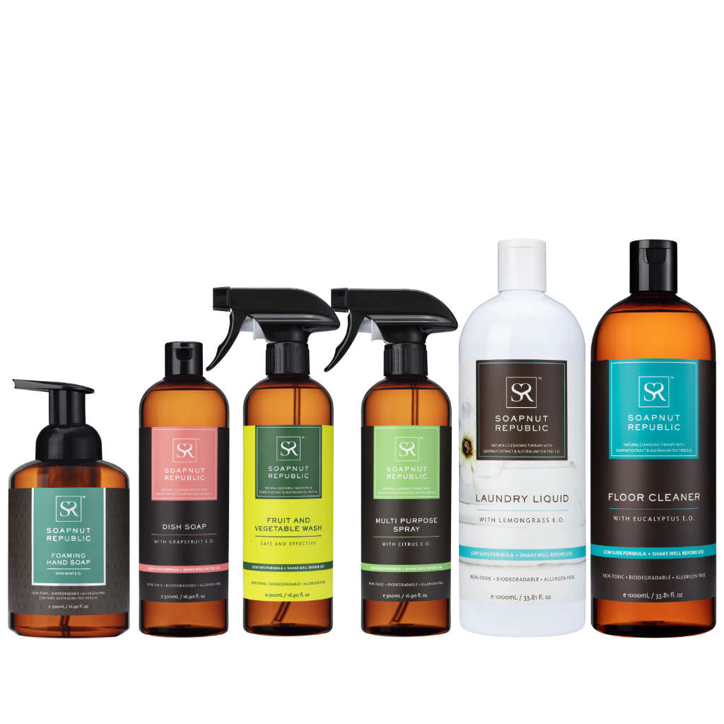 Essential Bundle with Mint Hand Soap