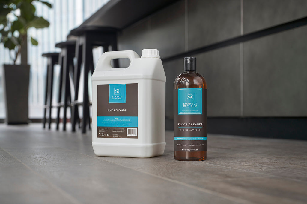 Floor Cleaner with Eucalyptus E.O. (Bulk Starter 5L + 1L)