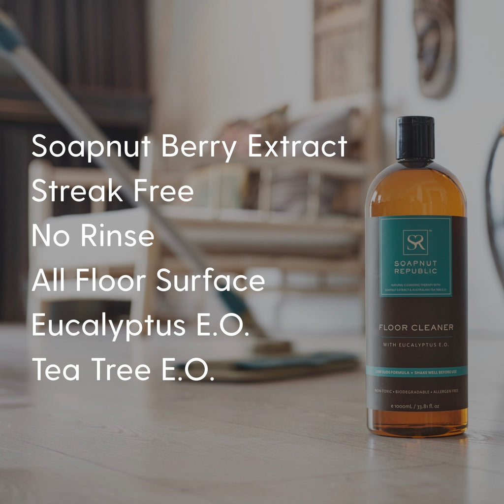 Floor Cleaner with Eucalyptus E.O. (1L)