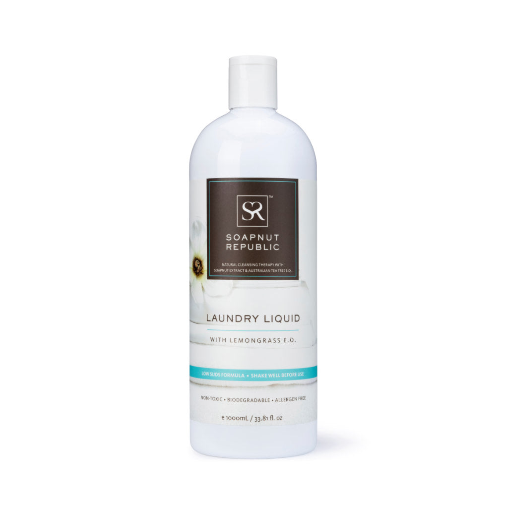 Laundry Liquid with Lemongrass E.O. (1L)