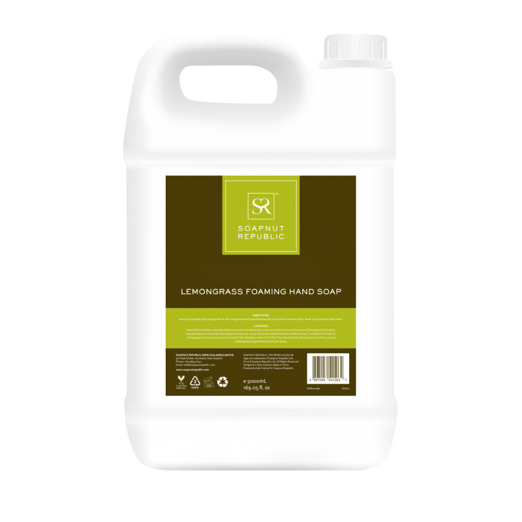 Foaming Hand Soap with Lemongrass E.O. (5L)