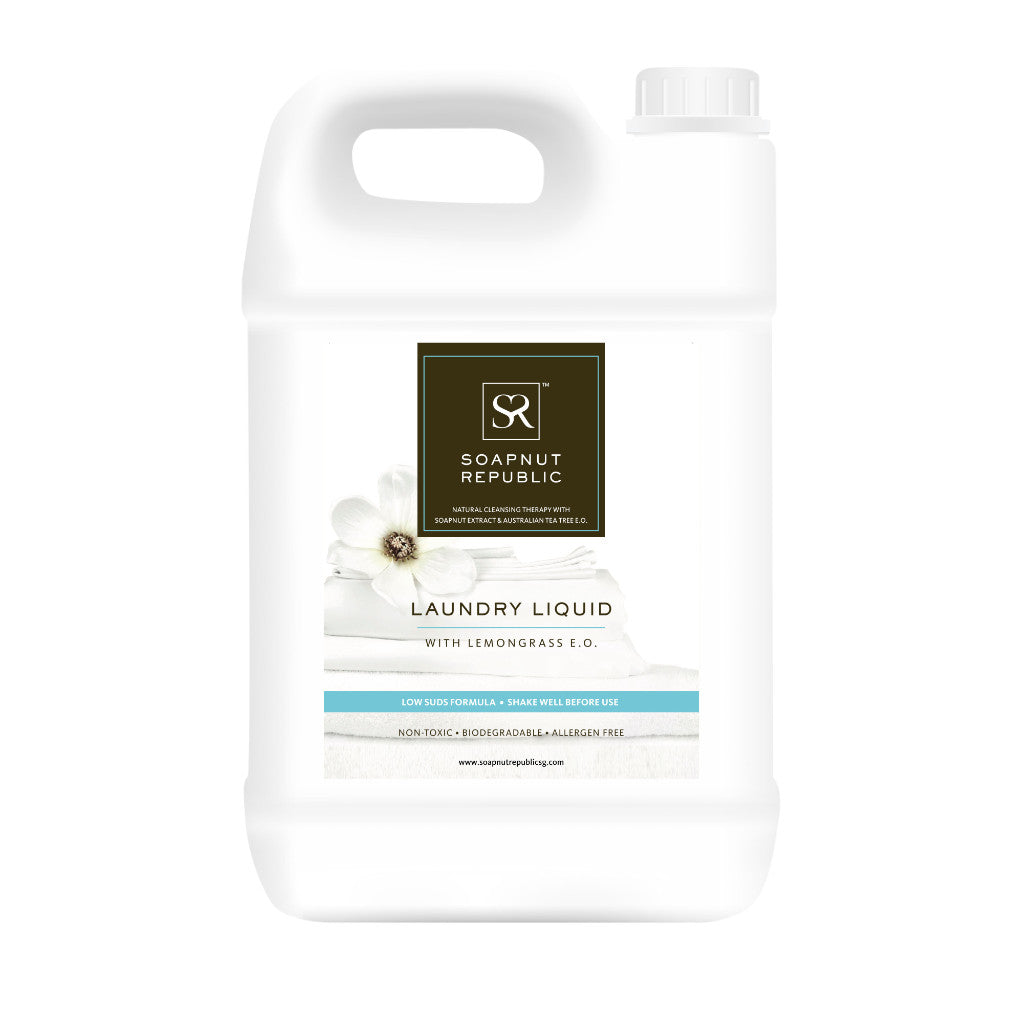 Laundry Liquid with Lemongrass E.O. (5L)