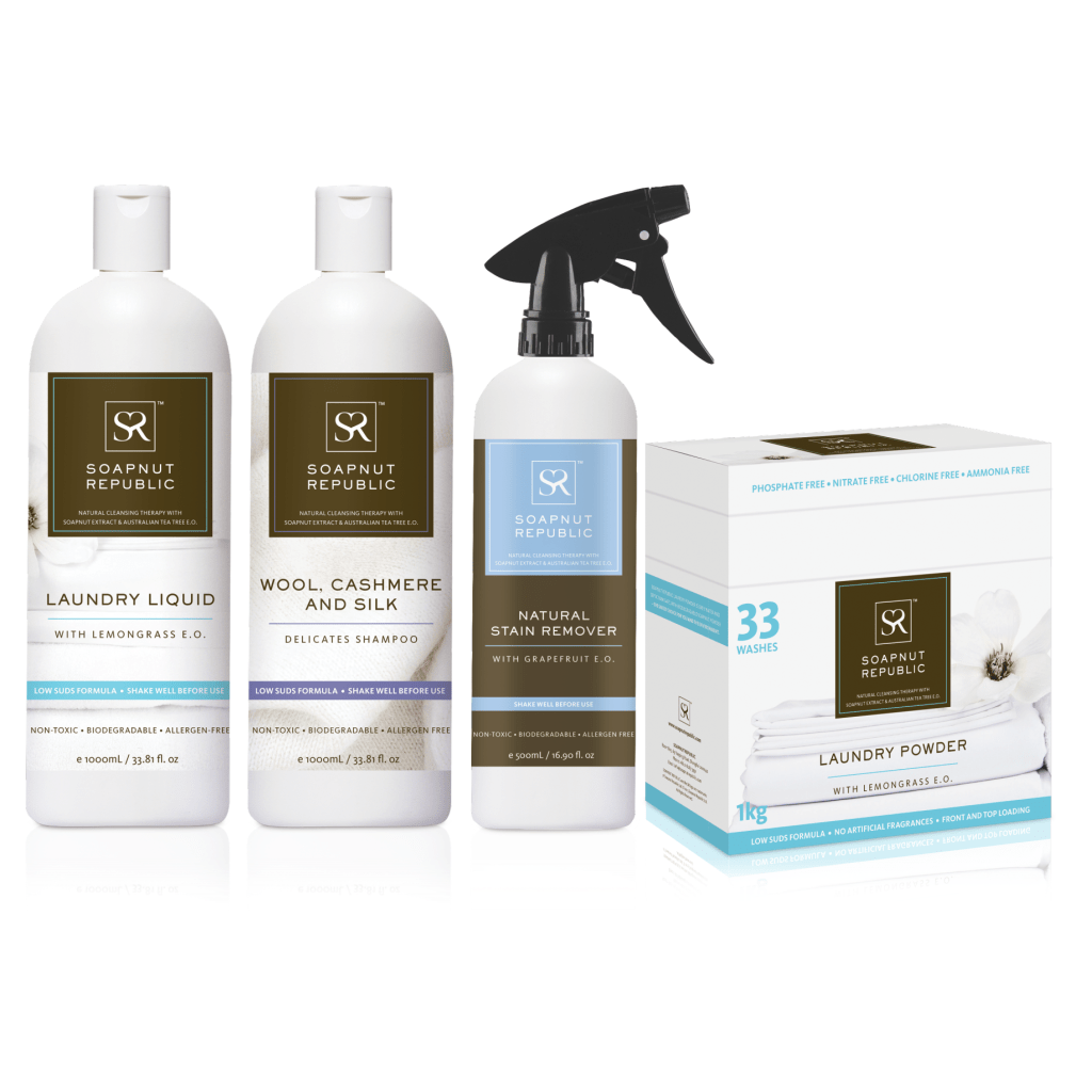Laundry Care Complete Bundle - Soapnut Republic Singapore - Natural Cleaning
