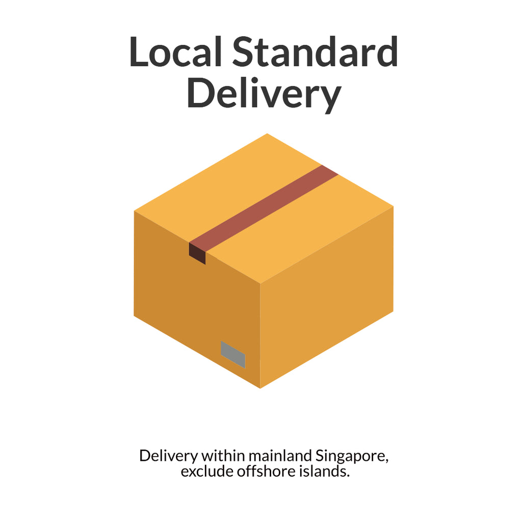 Local Standard Delivery top up for gift bundle