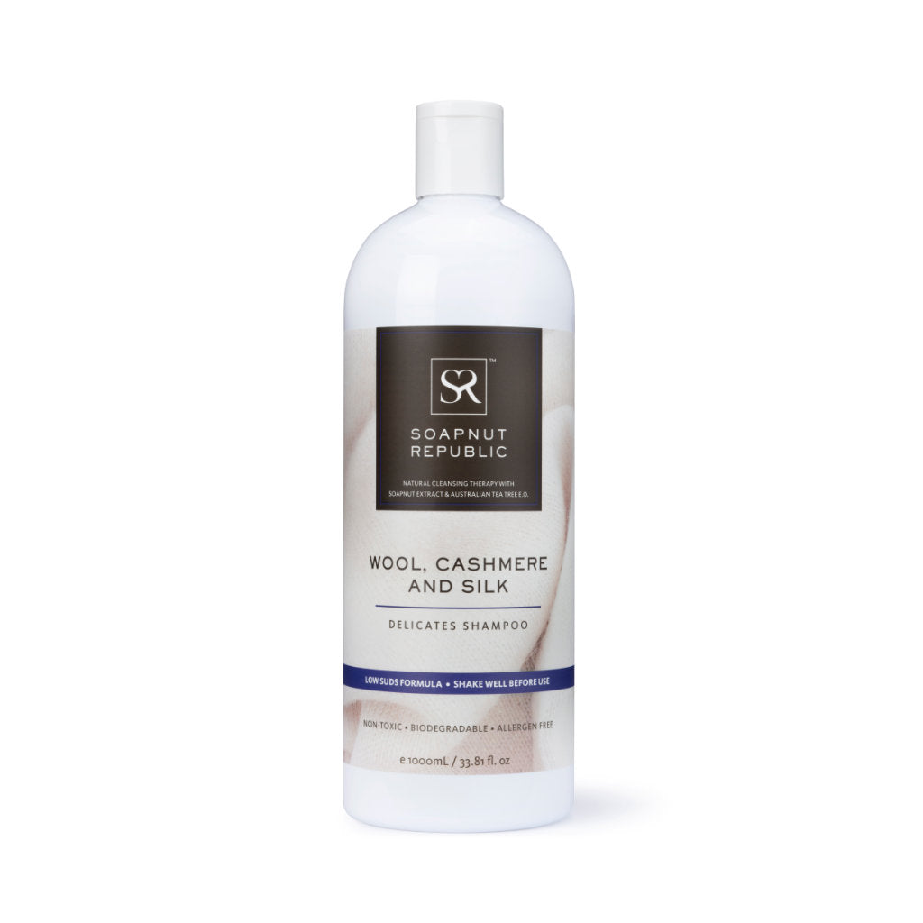 Wool, Cashmere & Silk Delicates Shampoo with Lemongrass E.O. (1L)