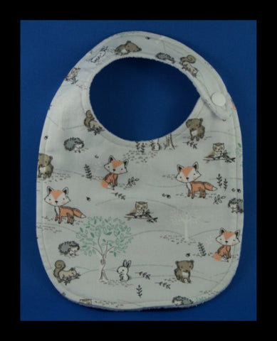 Forest Animals Bib