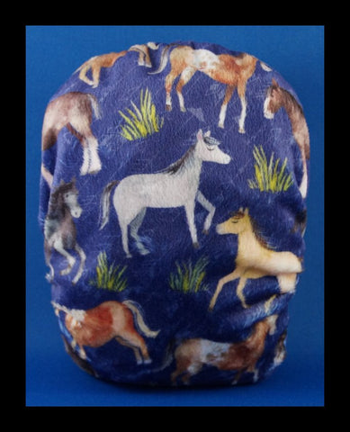 Mini Spliced Horses 'Printed Pretty' Nappy!