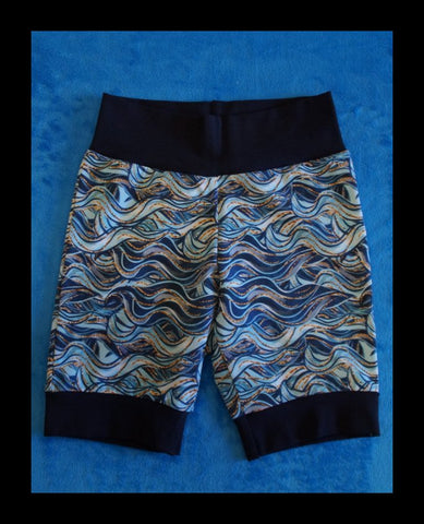 Ocean Waves Short Joggers (size 4)