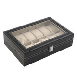 12 Watch Leather Watch Box