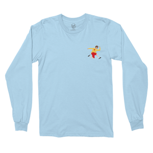 DD Long Sleeve Light Blue