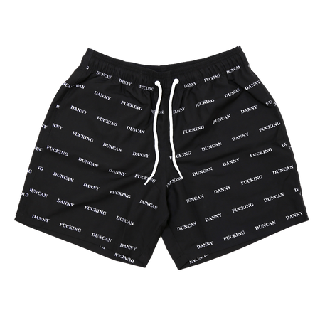 Virginity Rocks Tour Black Gym Shorts