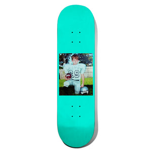 Quick Boy Turquoise Skate Deck