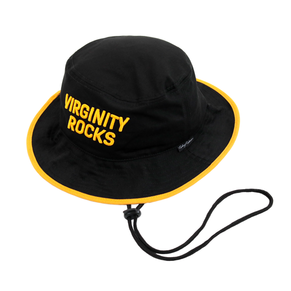 Virginity Rocks Black Bucket Hat