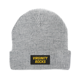 Virginity Rocks Grey Beanie