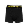 Virginity Rocks Black Underwear