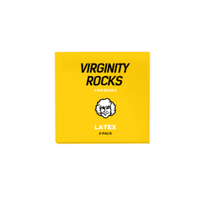 Virginity Rocks Condoms - 3 Pack