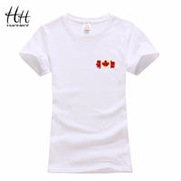 Canadian Leaf Print Women's T-shirt