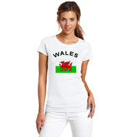 Wales Fans Cheer Women T-Shirt
