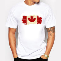 Canadian Maple Leaf Summer Style T-shirt