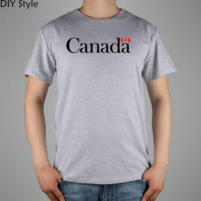 CANADA Maple Leaf Flag T-shirt