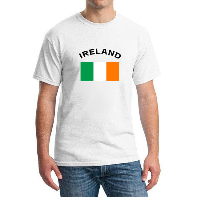 2017 Summer European Cup IRELAND Fans Cheer T-Shirts