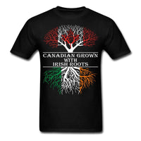 Canadian Grown With Irish Roots Men's T-Shirt