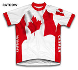 Canada Flag  Bicycle Jersey