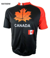 Canadian Maple Leaf Cycling Jersey