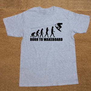 Born To Wakeboard Evolution  Gift T-Shirt