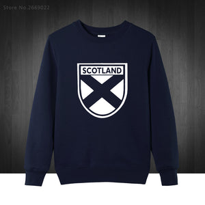 Scotland Flag Printed Men's Sweatshirt