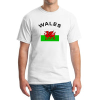 WALES Fans Cheer National Flag T-Shirt