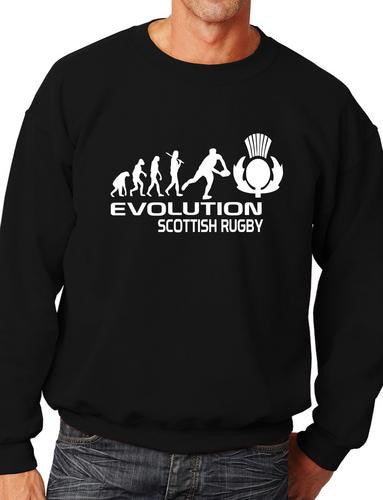 Evolution of Scottish Rugby Sweatshirt