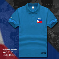 Philippine Flag Polo Shirt