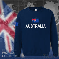 Australia Flag Men Sweatshirt