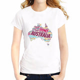Sydney Australia Ladies T-shirt