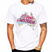 Sydney Australia Printed Men's T-shirt