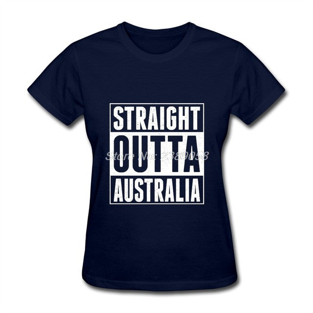 Women's Straight Outta Australia T-Shirt