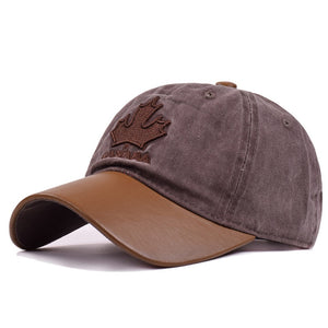 Canada Maple Leaf Embroidery Baseball Cap