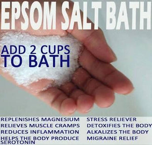 How a bath with Magnesium Sulphate can solve your health issues