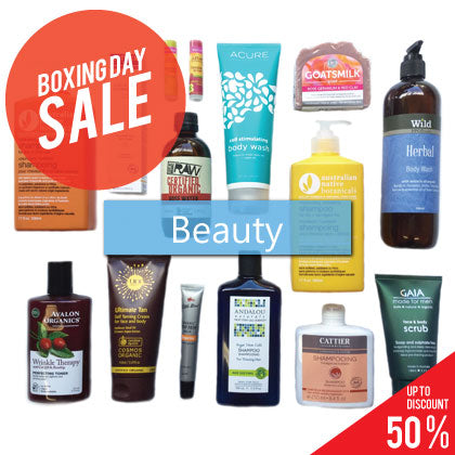 Boxing Day - Beauty Sale!