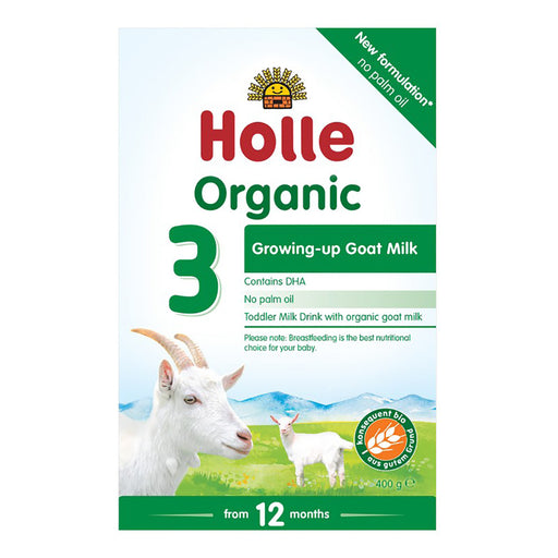 HOLLE Organic Goat Milk Follow-on Stage 3 Baby Formula 400g