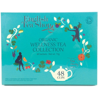 English Tea Shop Wellness Gift Pack - 48 Organic Tea Bags