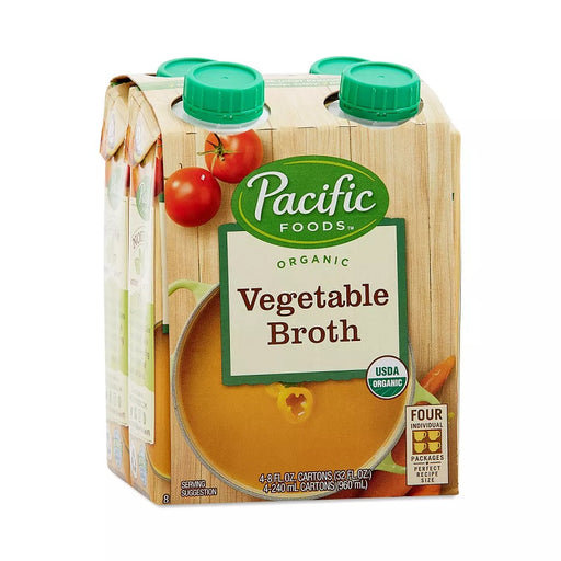 Pacific Foods 4 Pk Organic Vegetable Stock