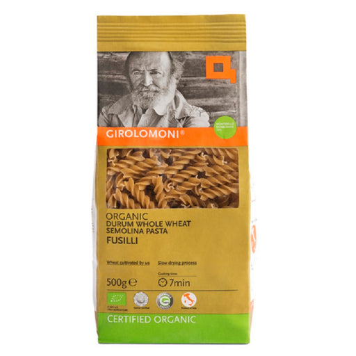 Girolomoni Organic Whole Durum Wheat Semolina Fusilli